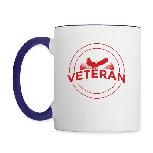 Veteran Soldier Military - Contrast Coffee Mug