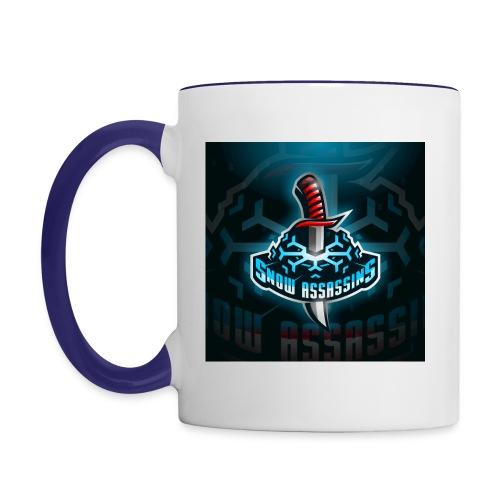 High res Snow Assassin - Contrast Coffee Mug