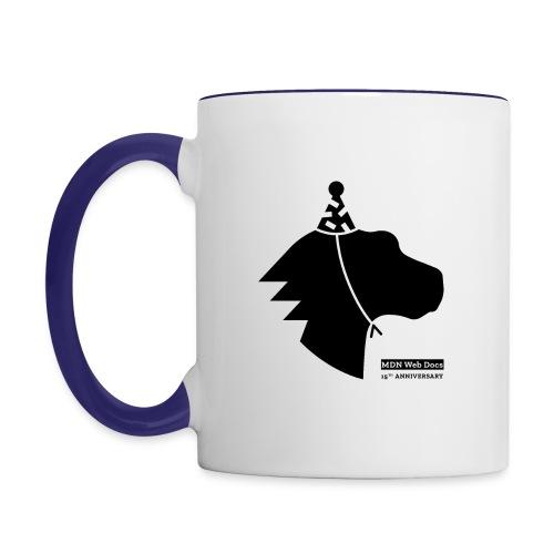 MDN 15th Anniversary - Positive - Contrast Coffee Mug