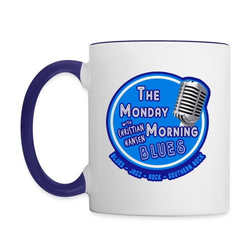 Official Branding of The Monday Morning Blues! - Contrast Coffee Mug