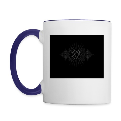 him - Contrast Coffee Mug
