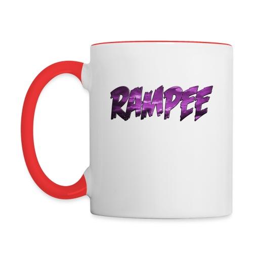 Purple Cloud Rampee - Contrast Coffee Mug