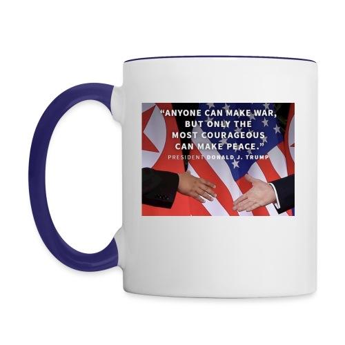 Peace - Contrast Coffee Mug
