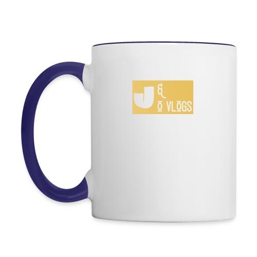 J & O Vlogs - Contrast Coffee Mug