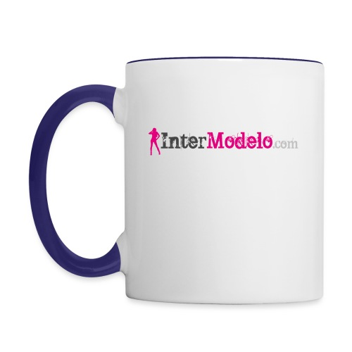Intermodelo Color Logo - Contrast Coffee Mug
