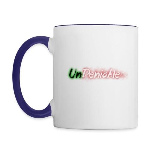 UnDeniable Logo - Contrast Coffee Mug