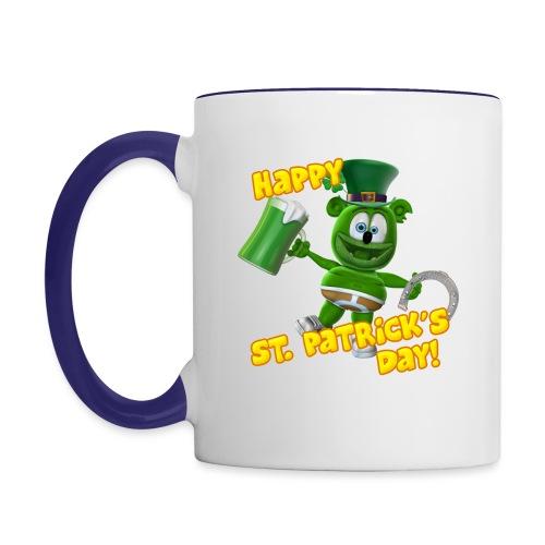 Gummibär (The Gummy Bear) Saint Patrick's Day - Contrast Coffee Mug