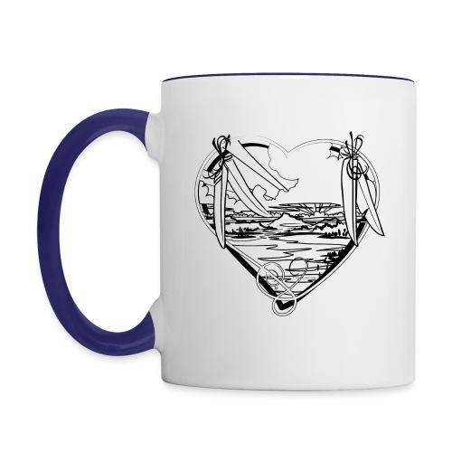 Earth is for Earth Lovers - Contrast Coffee Mug