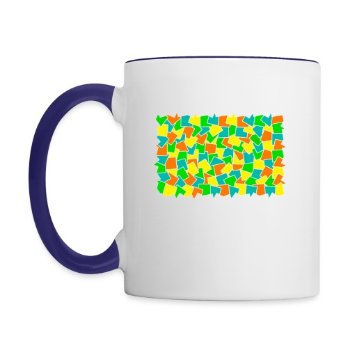 Dynamic movement - Contrast Coffee Mug