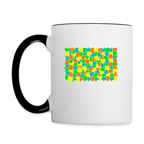Dynamic movement - Contrast Coffee Mug