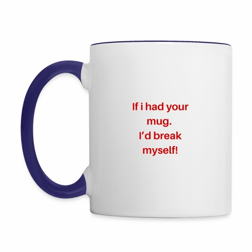 QM - Contrast Coffee Mug