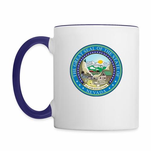 Nevada State RP - Seal - Contrast Coffee Mug