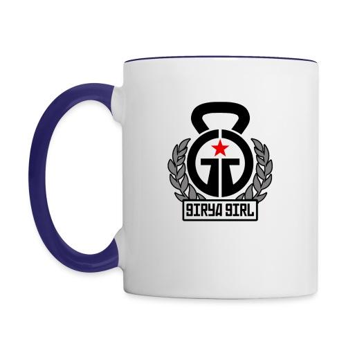 GiryaGirl.com Official Logo - Contrast Coffee Mug