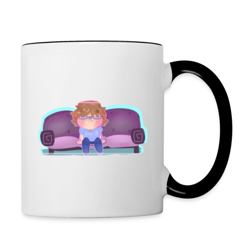 Come Sit - Contrast Coffee Mug