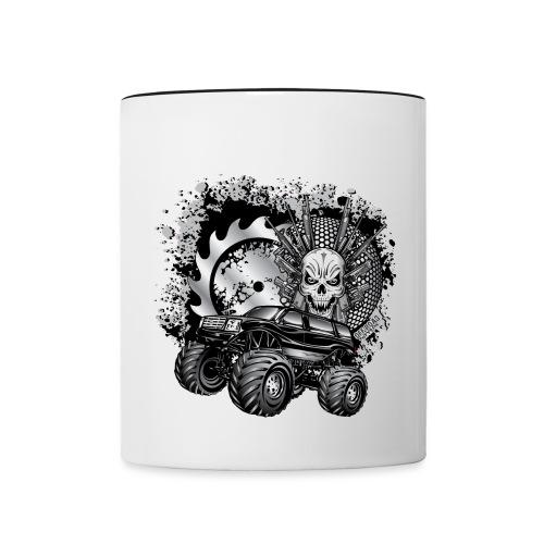 Metallic Monster Truck - Contrast Coffee Mug