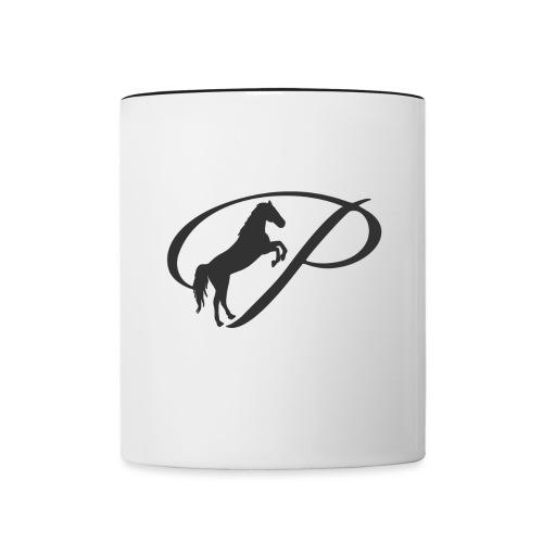 Transparent 80 Black - Contrast Coffee Mug