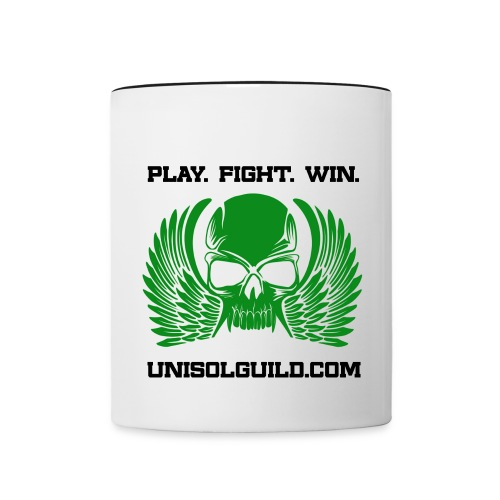 Play Fight Win - Contrast Coffee Mug