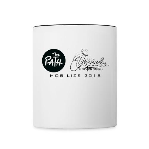 Black White VCC Logo - Contrast Coffee Mug
