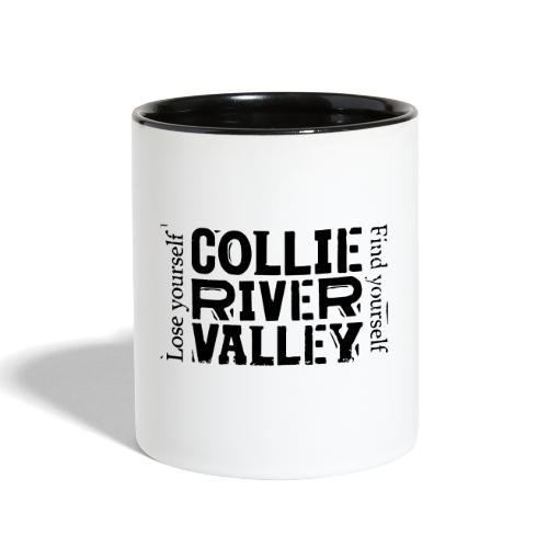Lose yourself, find yourself - Contrast Coffee Mug