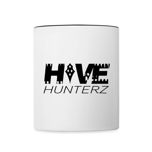 Hive Hunterz Black Logo - Contrast Coffee Mug