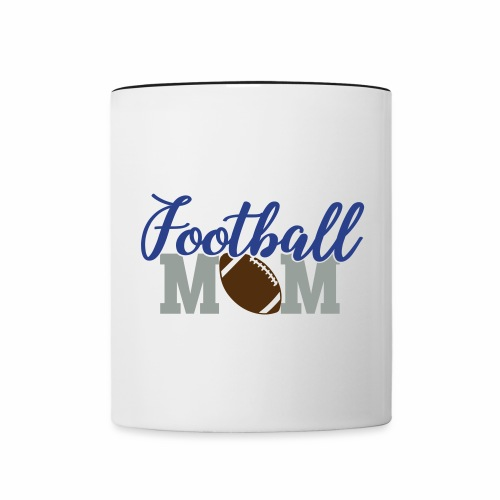 Football Mom titan - Contrast Coffee Mug
