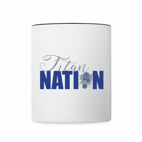 Titan Nation XCountry - Contrast Coffee Mug