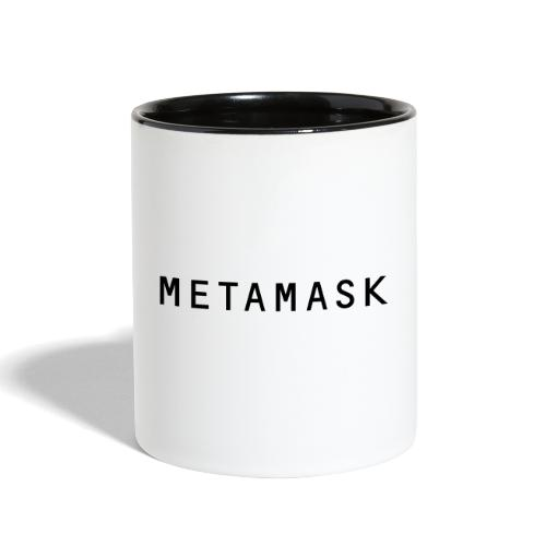 MetaMask Wordmark - Contrast Coffee Mug