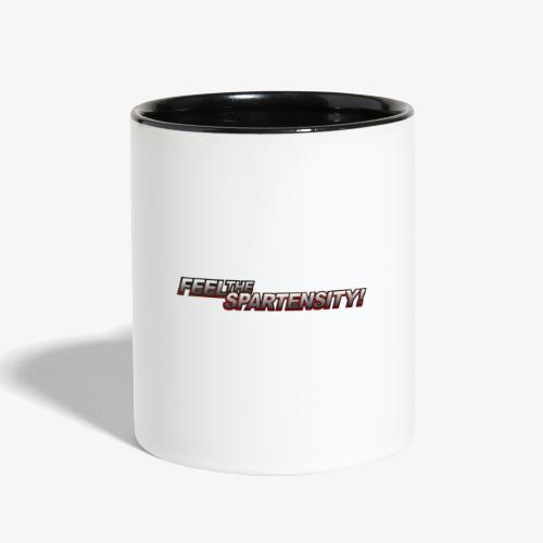 FeelTheSpartensity - Contrast Coffee Mug