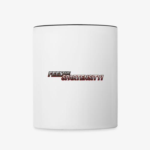 FeelTheSpartensity - Contrast Coffee Mug