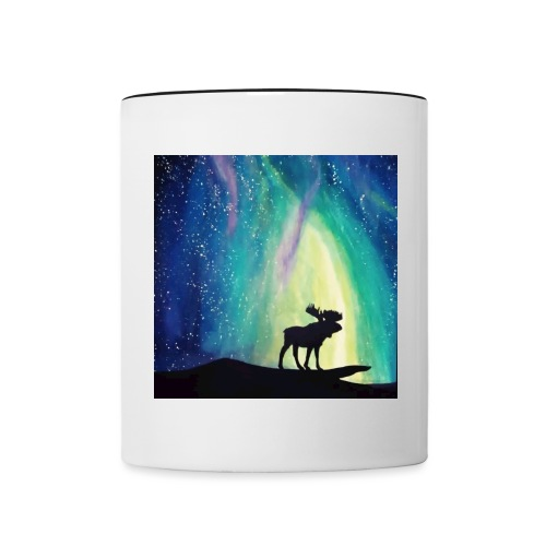 Night Moose - Contrast Coffee Mug