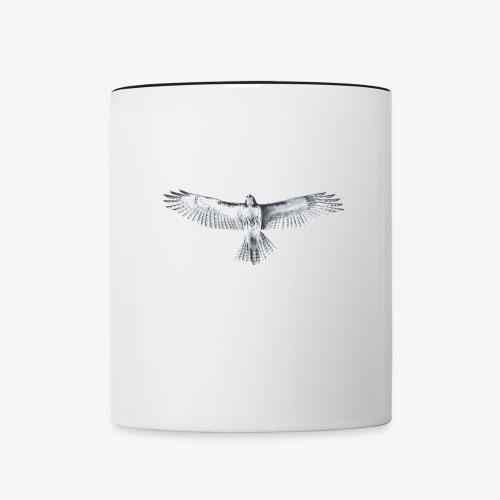 Red-Tailed Hawk - Contrast Coffee Mug