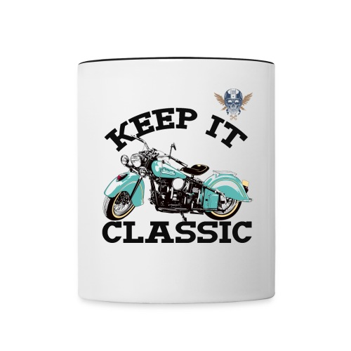 keep it classic1 - Contrast Coffee Mug