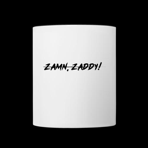 Well, zamn, Zaddy! - Contrast Coffee Mug