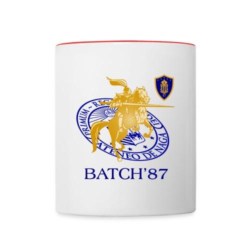 Ateneo Batch 87 - Contrast Coffee Mug