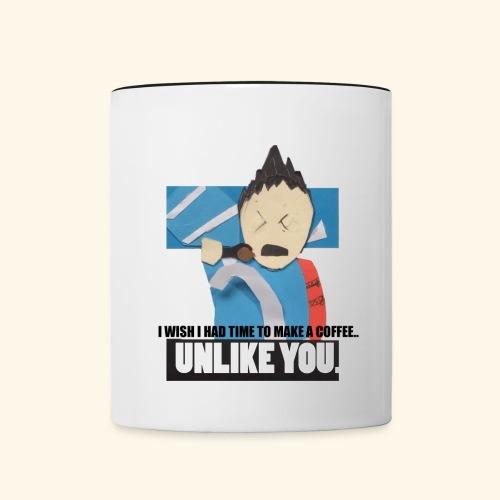 Mark Coffee Mug - Contrast Coffee Mug