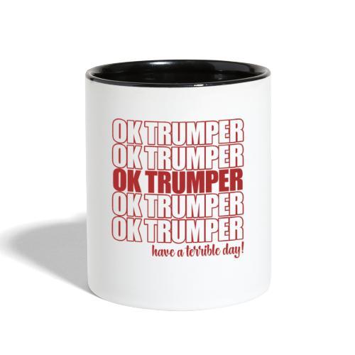 OK trumper - Contrast Coffee Mug
