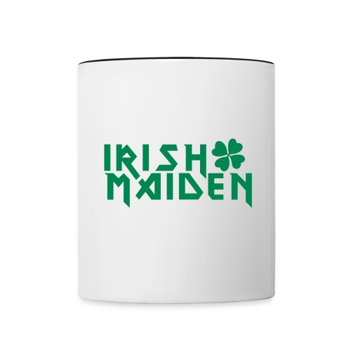 irish_maiden - Contrast Coffee Mug