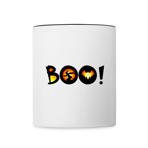 Happy Halloween Boo 2 - Contrast Coffee Mug