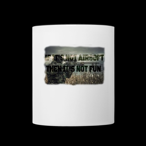 Airsoft T-shirts and stuff - Contrast Coffee Mug