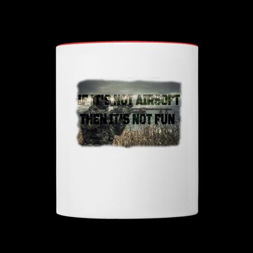 Airsoft T-shirts and stuff - Contrast Coffee Mug