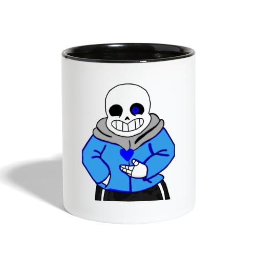 "Undertale San ""ReDraw"" - Contrast Coffee Mug"