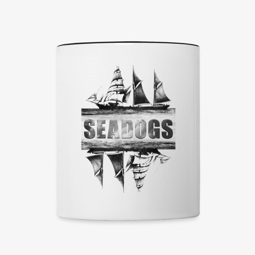 Seadogs Ship at Sea Graphic - Contrast Coffee Mug