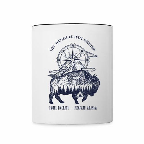 EGYPT MOUNTAIN TSHIRT - Contrast Coffee Mug
