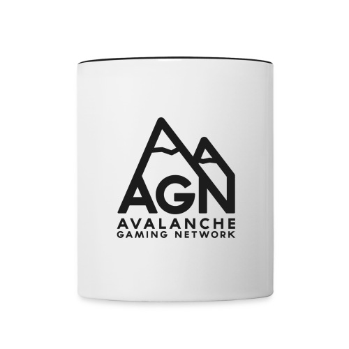 AGN Black Logo Hoodie - Contrast Coffee Mug