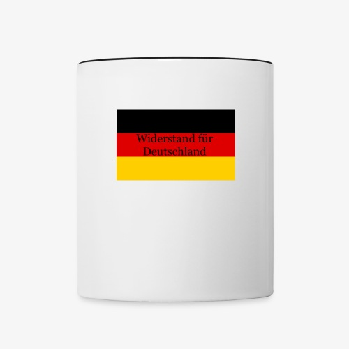 Widerstand für Deutschland - Contrast Coffee Mug