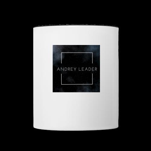 Andrey Leader official fan merchandise - Contrast Coffee Mug