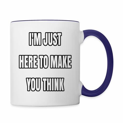 IJHTMYT (White Font) - Contrast Coffee Mug