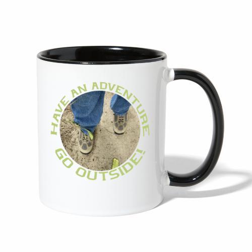 Have an Adventure-Go Outside! - Contrast Coffee Mug
