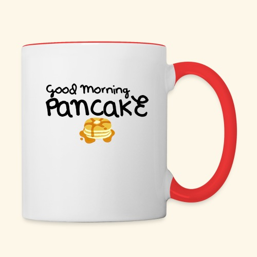 Good Morning Pancake Mug - Contrast Coffee Mug