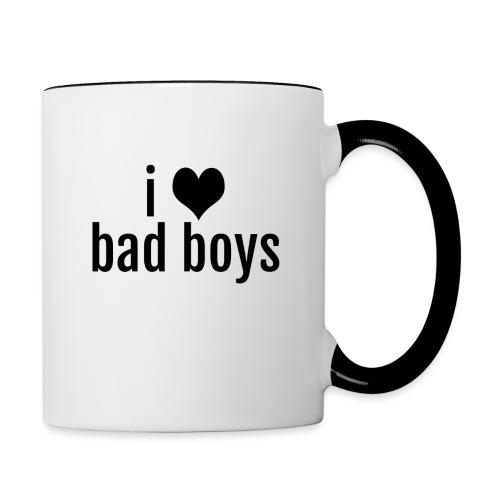 love-bad-boys - Contrast Coffee Mug